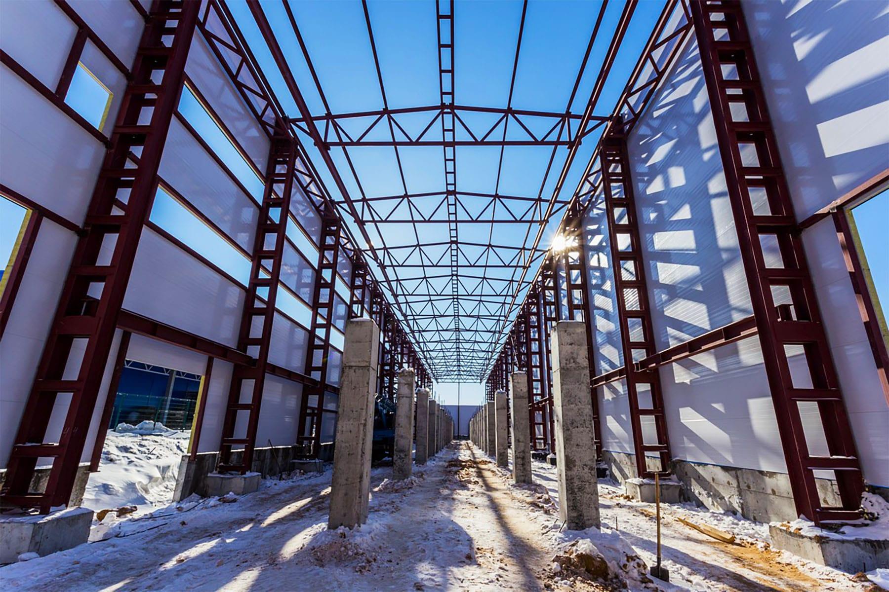 Реконструкция промышленных зданий и сооружений