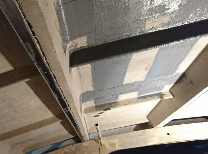 усиление ребристых плит перекрытий углеволокном